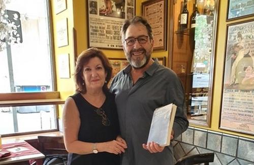 Maudy Ventosa con José Miguel Guallar